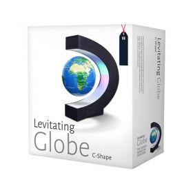 Глобус Levitating Globe - C-shape, левитиращ, с С-образна стойка и LED светлини