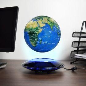 Глобус Levitating Globe, левитиращ,  с LED светлина