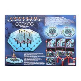 Настолна игра Geomag - Magnetic Challenge
