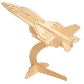 Дървен 3D пъзел Professor Puzzle, Боен самолет