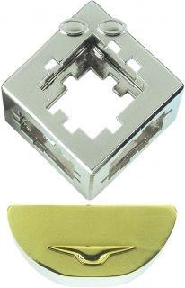 Метален логически пъзел Hanayama - Куб