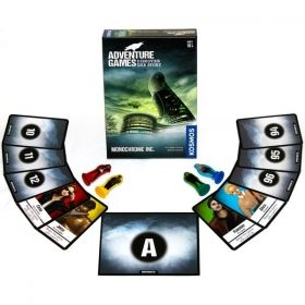 Настолна игра Adventure Games - Monochrome Inc.