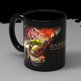 Чаша Фантасмагория Баталия - Volcano, черна