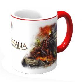 Чаша Фантасмагория Баталия - Volcano, бяла