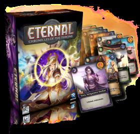 Настолна игра  Eternal - Chronicles of the Throne