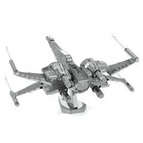Метален 3D пъзел Metal Earth - Poe Dameron's X-Wing Fighter