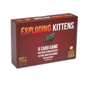 Настолна игра Exploding Kittens - Original Edition