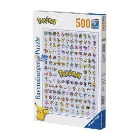 Пъзел от 500 части Educa - Pokémon