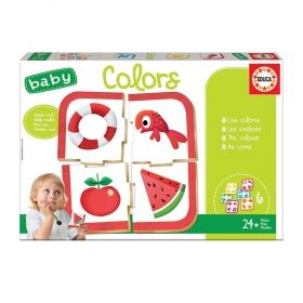 Детска игра Educa - Цветовете