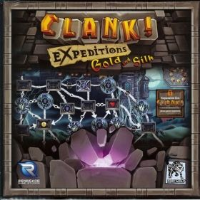 Разширение за Clank! Expeditions - Gold and Silk