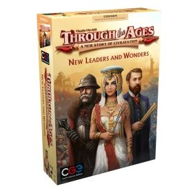 Разширение за Through the Ages - New Leaders and Wonders