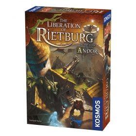 Настолна игра Legends of Andor - The Liberation of Rietburg