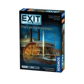 Настолна игра Exit - The Game – Theft on the Mississippi