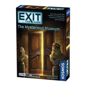 Настолна игра Exit - The Game – The Mysterious Museum
