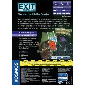 Настолна игра Exit - The Game - The Haunted Roller Coaster