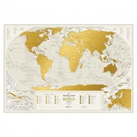 Географска Скреч Карта на Света  2