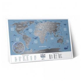 Географска Скреч Карта World Travel Weekend
