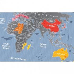 Географска Скреч Карта World Travel Weekend 2
