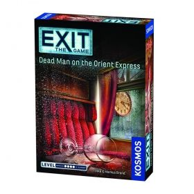 Настолна игра Exit - The Game – Dead Man on the Orient Express