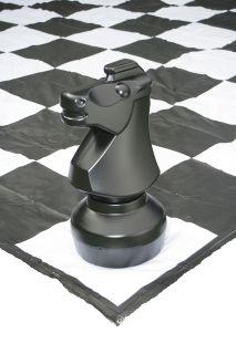 PVC постелка - игрално поле за градински шах