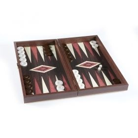 Дървена табла и шах Manopoulos, малък размер, 30x30