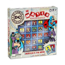 Детска игра Top Trumps Match - DC Comics
