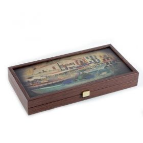Табла за игра Manopoulos - Пристанище, 38x38 см