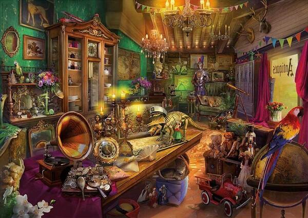 Пъзел-загадка Educa от 500 части - Античен магазин