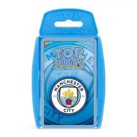 Игра с карти Top Trumps - Манчестър Сити