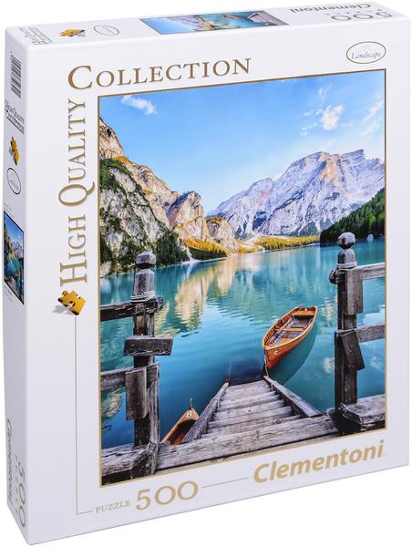 Пъзел Clementoni от 500 части - Езерото Брайес, Италия
