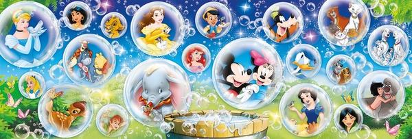 Панорамен пъзел Clementoni от 1000 части - Disney Classic