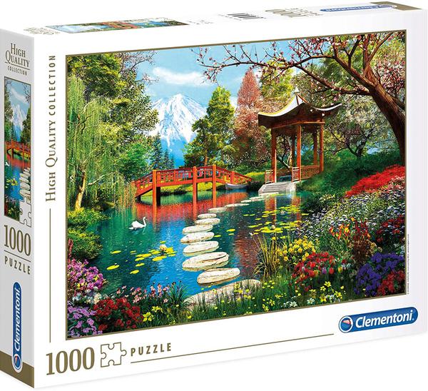 Пъзел Clementoni от 1000 части - Градината Фуджи