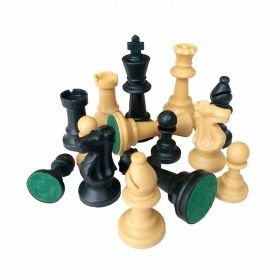 Пластмасови фигурки за шах, 77мм