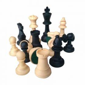 Пластмасови фигурки за шах 95 мм. утежнени
