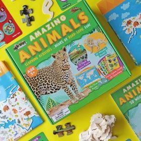 Образователен комплект Robert Frederick - Удивителни животни
