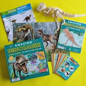Образователен комплект Robert Frederick - Удивителни динозаври