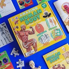 Образователен комплект Robert Frederick - Удивителното човешко тяло
