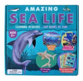 Образователен комплект Robert Frederick - Удивителен морски живот