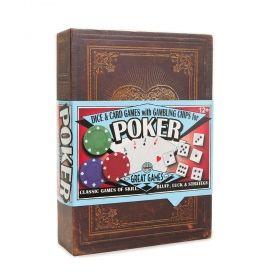 Комплект за покер House of Marbles - Poker Set