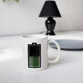 Чаша Kikkerland - Батерия, с термоефект