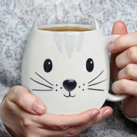 Чаши Balvi - Коте, бяла