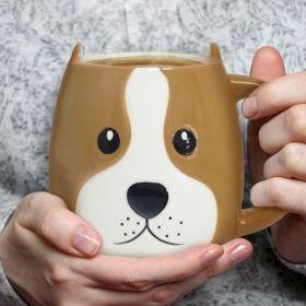 Чаша Balvi - Куче, бяла