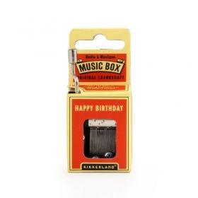 Ръчна музикална кутийка Kikkerland - Happy Birthday