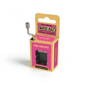 Ръчна музикална кутийка Kikkerland - Розовата пантера