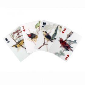 Карти за игра Kikkerland - Птици, 3D ефект