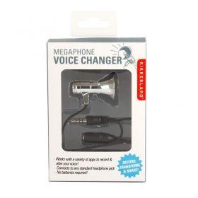 Мини мегафон Kikkerland - Megaphone voice changer