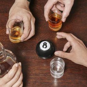 Парти топка Kikkerland - 8-ball Drinking game