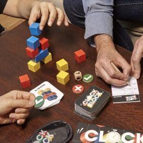 Настолна игра Kikkerland - Clock Block