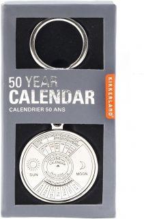 Ключодържател Kikkerland - 50 годишен календар