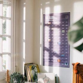 Интерактивен постер DOIY - 100 албума, които трябва да чуеш преди да умреш